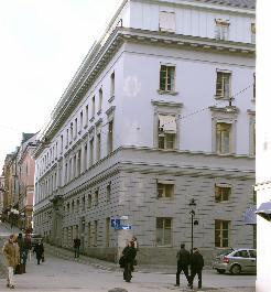 Westmanska husets fasad