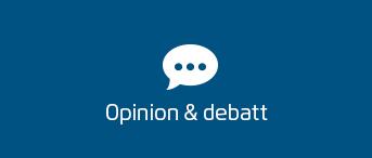 Opinion & debatt