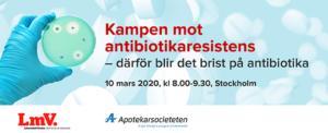 Kampen mot antibiotikaresistens -därför blir det brist på antibiotika