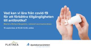 Vad kan vi lära från covid-19 för att förbättra tillgängligheten till antibiotika?