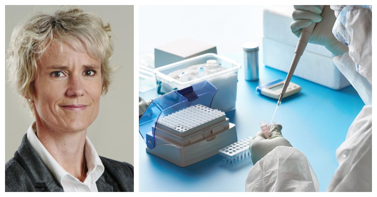 Karin Meyer, vd för Apotekarsocieteten