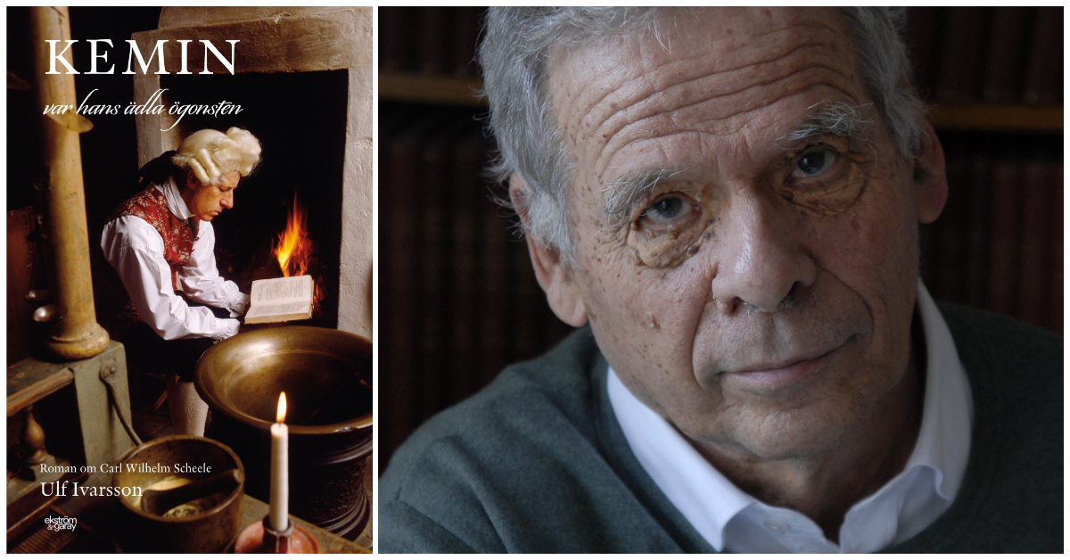 """Ulf Ivarsson är författare till romanen """"Kemin var hans ädla ögonsten"""" om Carl Wilhelm Scheele."""
